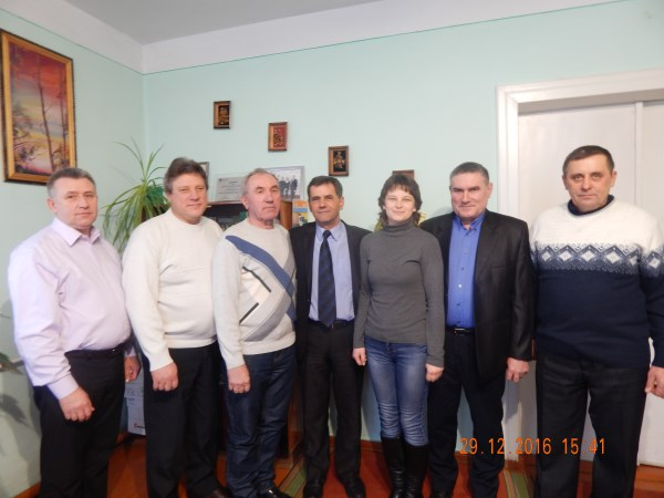 У Хоробрівській сільській раді вшанували хліборобів