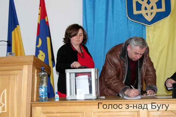 на сесії Сокальської районної ради