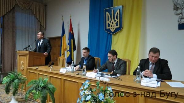 Олег Пелих звітував перед громадою