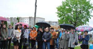 під час віче-реквієму на Сокальському цвинтарі у День пам'яті та примирення
